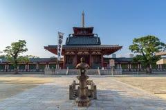 Temple de Shitennoji dans Tennoji, Osaka Photographie stock libre de droits