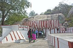 Temple de Shiva de caverne Photo stock