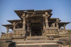 Temple de shiva de Hemadpanti Photographie stock libre de droits