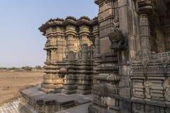 Temple de shiva de Hemadpanti Photos stock