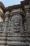 Temple de shiva de Hemadpanti Photographie stock