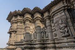 Temple de shiva de Hemadpanti Images libres de droits