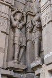 Temple de shiva de Hemadpanti, Hottal, maharashtra Photographie stock