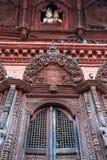 Temple de Shiva-Parvati, place de Durbar, Katmandou, Népal Images libres de droits
