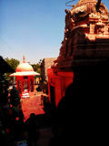 Temple de Sidheswar chez Solapur image libre de droits