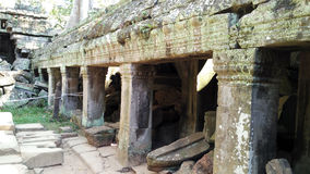 Temple de Siem Reap Cambodge images libres de droits