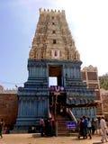 Temple de Simhachalam chez Visakhapatnam images libres de droits