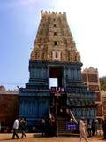 Temple de Simhachalam chez Vizag photographie stock libre de droits
