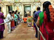 Temple de Singapour Sri Veeramakaliamman image stock