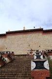 Temple de Songzanlin Bouddha Image stock