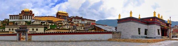 temple de songzanlin de shangri de La image libre de droits