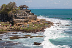 Temple de sort de Pura Tanah Photo stock