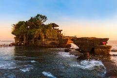 Temple de sort de Tanah - Bali Indonésie photo libre de droits
