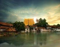 Temple de Sree Padmanabhaswamy photo libre de droits