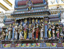 Temple de Sri Krishnan Photographie stock