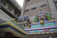 Temple de Sri Mahamariamman Photo libre de droits