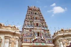 Temple de Sri Mahamariamman, Kuala Lumpur Image libre de droits