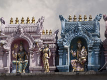 Temple de Sri Veeramakaliamman Photographie stock