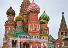 Temple de St Basil Blazhenny, Moscou, Russie photo libre de droits