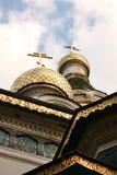 Temple de St Nikolay à Sofia images libres de droits