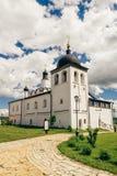 Temple de St Sergius de Radonezh Photos stock