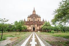 Temple de Sulamani (pagoda) dans vieux Bagan (païen), Myanmar (Birmanie) photographie stock libre de droits