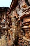 Temple de Sun près de Puri, Inde Photo libre de droits