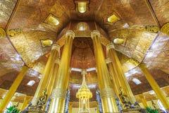 Temple de Swedaw Myat, Myanmar Photos stock