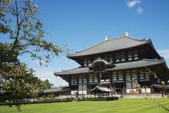 temple de T?dai-JI (Daibutsu), Nara Images libres de droits