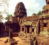 Temple de Ta Prohm Images libres de droits