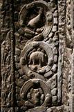Temple de Ta Prohm, Angkor Images libres de droits