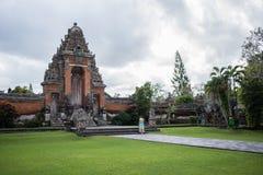 Temple de Taman Ayun, Bali, Indonésie Images libres de droits