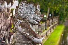Temple de Taman Ayun d'empire de Mengwi, régence de Badung, Bali, Indone photographie stock libre de droits