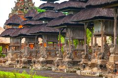 Temple de Taman Ayun d'empire de Mengwi, régence de Badung, Bali, Indone images libres de droits