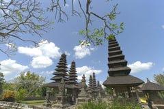 Temple de Taman Ayun dans Mengwi Image libre de droits