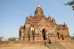 Temple de Thambula, Bagan, Myanmar Photos stock