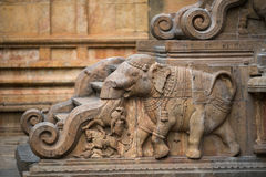 Temple de Thanjavur Images stock
