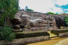 Temple de Thanthirimale dans Sri Lanka images libres de droits