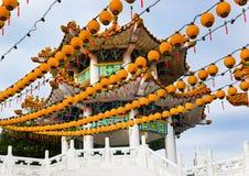 Temple de Thean Hou à Kuala Lumpur Malaisie Photographie stock libre de droits