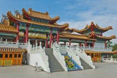 Temple de Thean Hou à Kuala Lumpur, Malaisie Images libres de droits