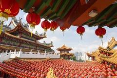 Temple de Thean Hou Photographie stock libre de droits