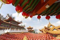 Temple de Thean Hou Image libre de droits