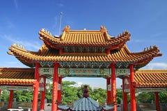Temple de Thean Hou Photos stock