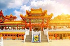 Temple de Thean Hou en Kuala Lumpur Malaysia photographie stock libre de droits