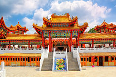 Temple de Thean Hou en Kuala Lumpur Malaysia images libres de droits