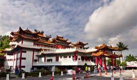 Temple de Thean Hou, Kuala Lumpur Image stock