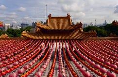 Temple de Thean Hou, Kuala Lumpur Images stock