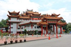 Temple de Tian Hou à Kuala Lumpur Images stock
