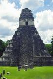Temple de tikal Images stock