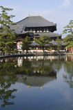 Temple de Todai-ji à Nara Photographie stock libre de droits
